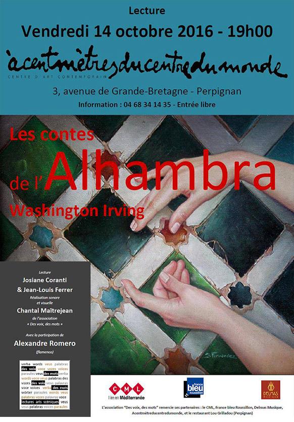 Lecture les Contes de l'Alhambra